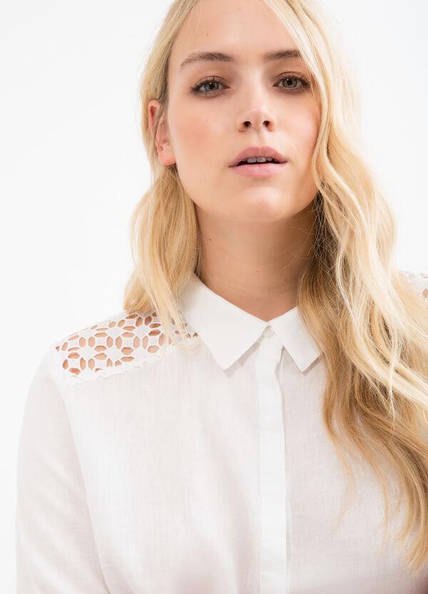 Camicia puro lino Curvy | OVS