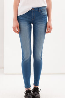 Skinny fit jeans, Medium Wash, hi-res