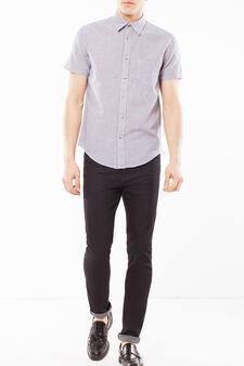 Camicia quadretti, Bianco/Blu, hi-res