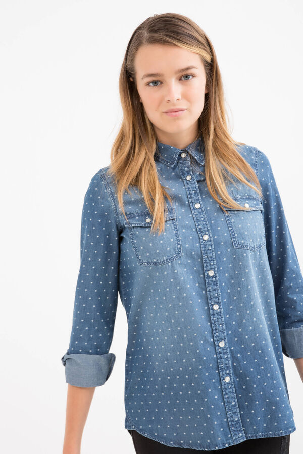 Camicia di jeans fantasia Teen | OVS