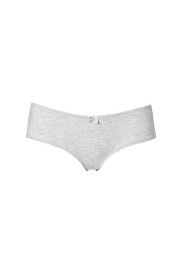 Two-pack stretch shorts, White/Grey, hi-res