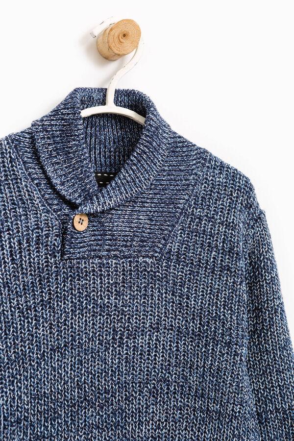 Pullover tricot con collo alto | OVS