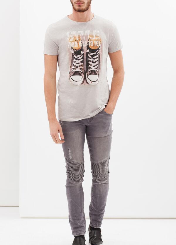 T-shirt puro cotone stampata | OVS