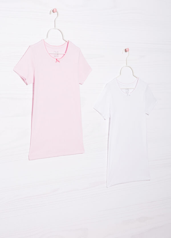 Set due t-shirt intime puro cotone | OVS