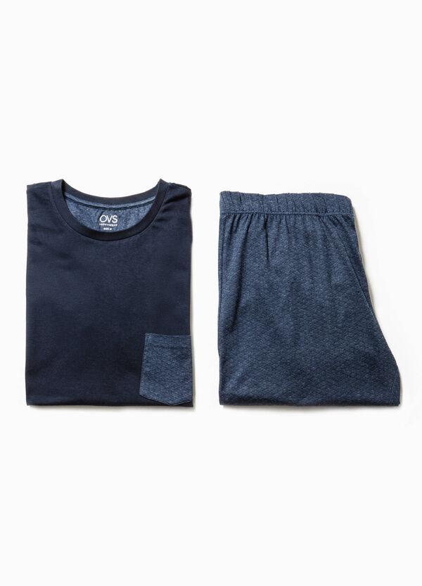 Pijama en algodón 100% con un bolsillo | OVS