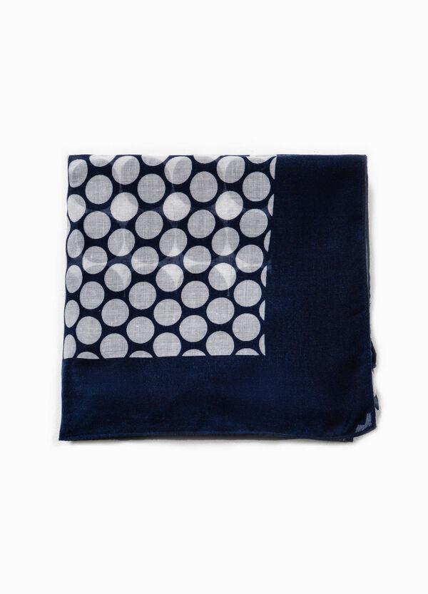 Scarf with polka dot print | OVS