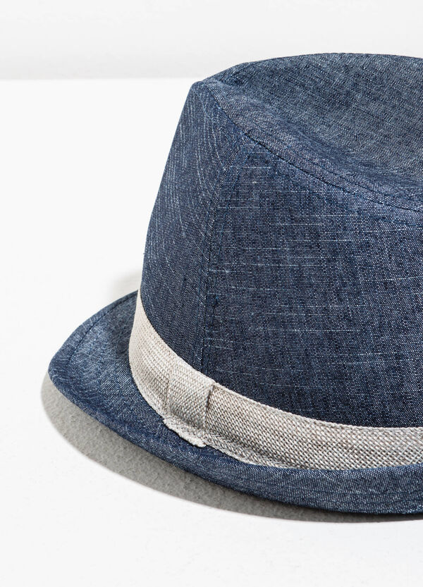 Cotton hat with wide brim | OVS