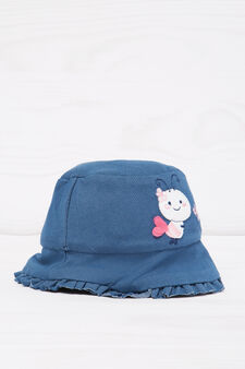 Cappellino alla pescatora di jeans, Denim, hi-res