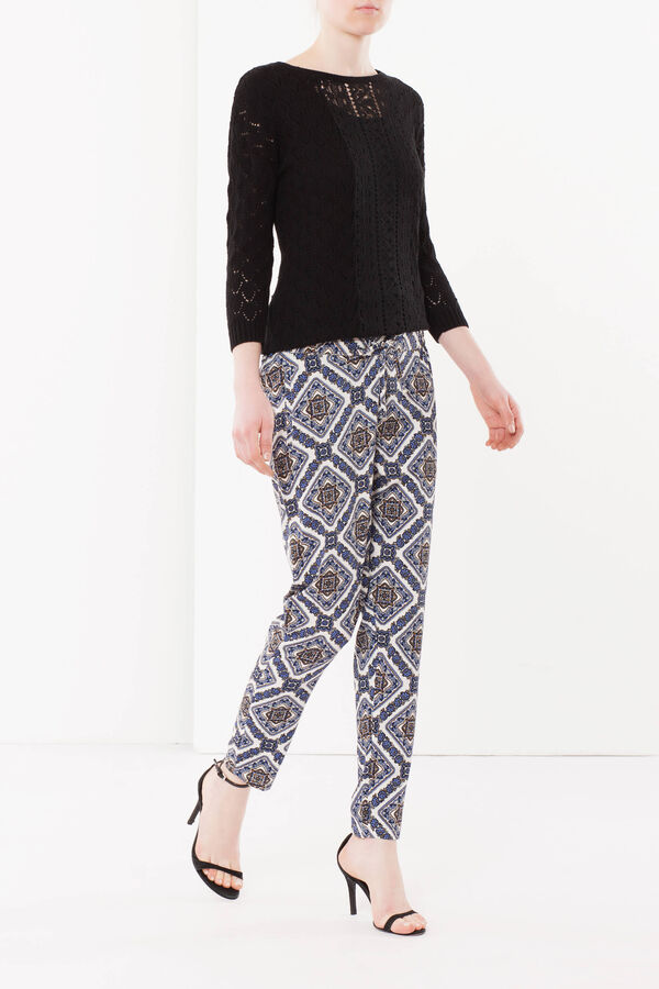 Trousers with drawstring | OVS