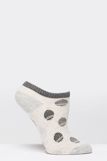 Two-pack short stretch socks, Black/Grey, hi-res