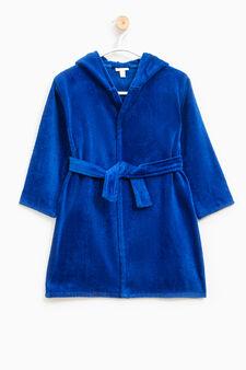 Accappatoio motivo rinoceronte, Blu royal, hi-res