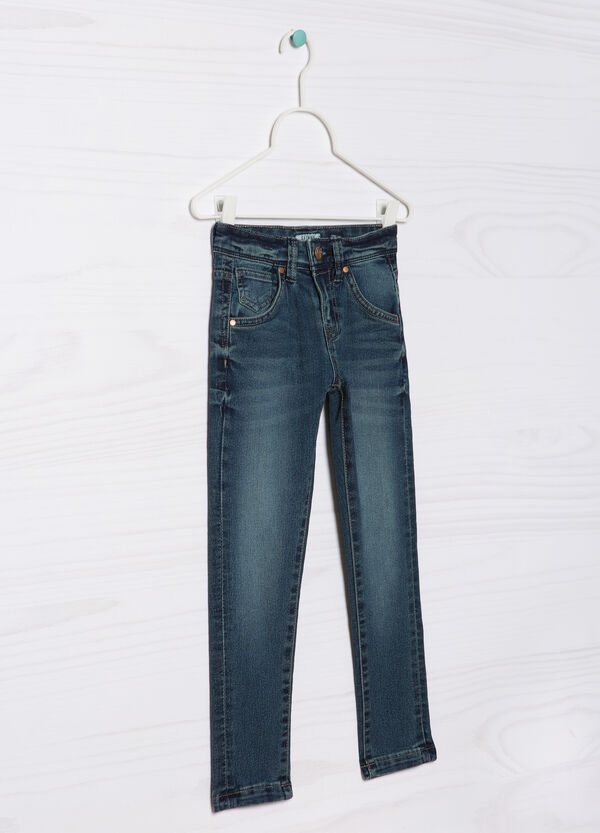 5-pocket jeans, skinny fit. | OVS