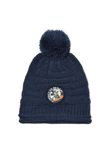 Mickey & Friends beanie cap, Blue, hi-res