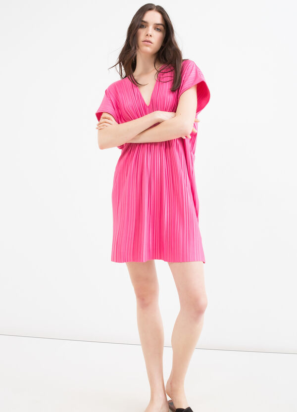 Pleated stretch dress   OVS