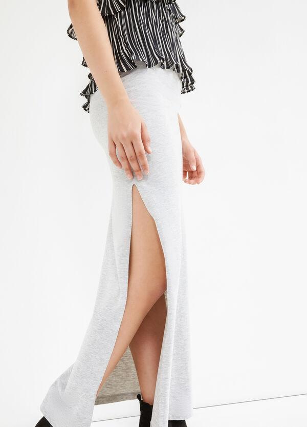 Long skirt with splits | OVS
