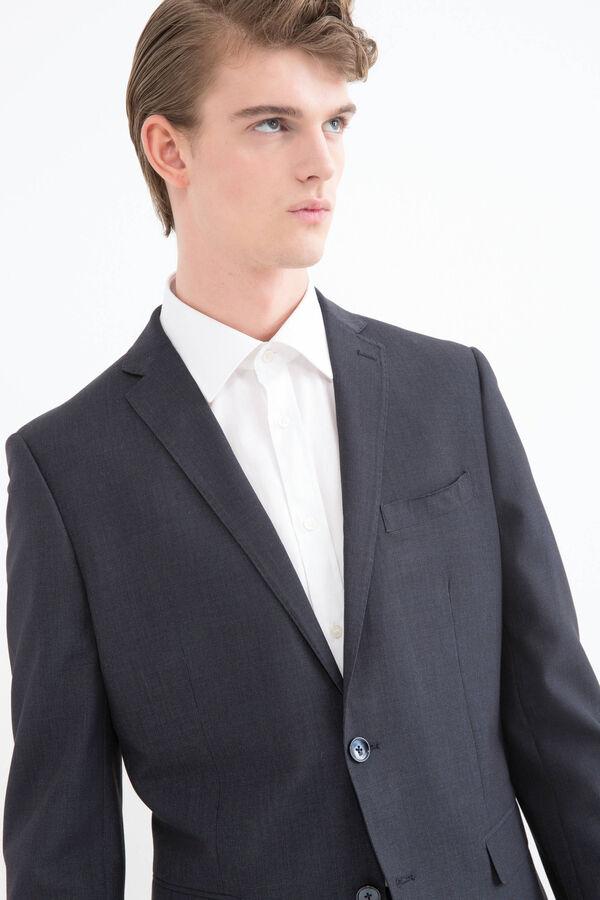 Elegant, viscose suit with regular fit | OVS