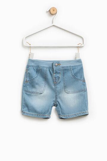 Pantaloncini effetto delavato