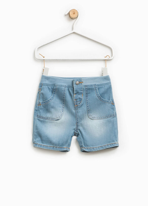 Faded-effect shorts | OVS