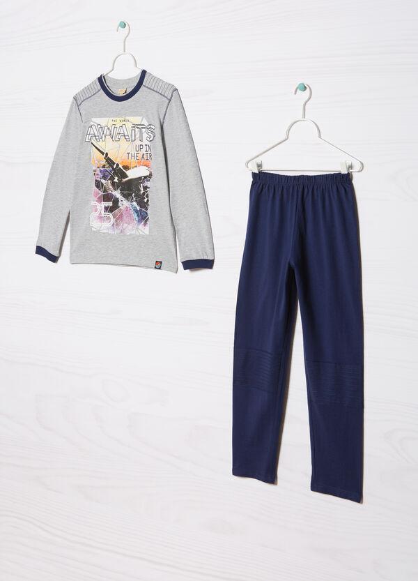 Printed pyjamas in 100% cotton | OVS