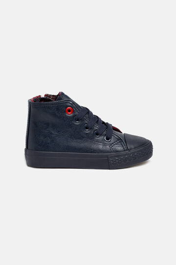 Sneakers alte, Blu navy, hi-res