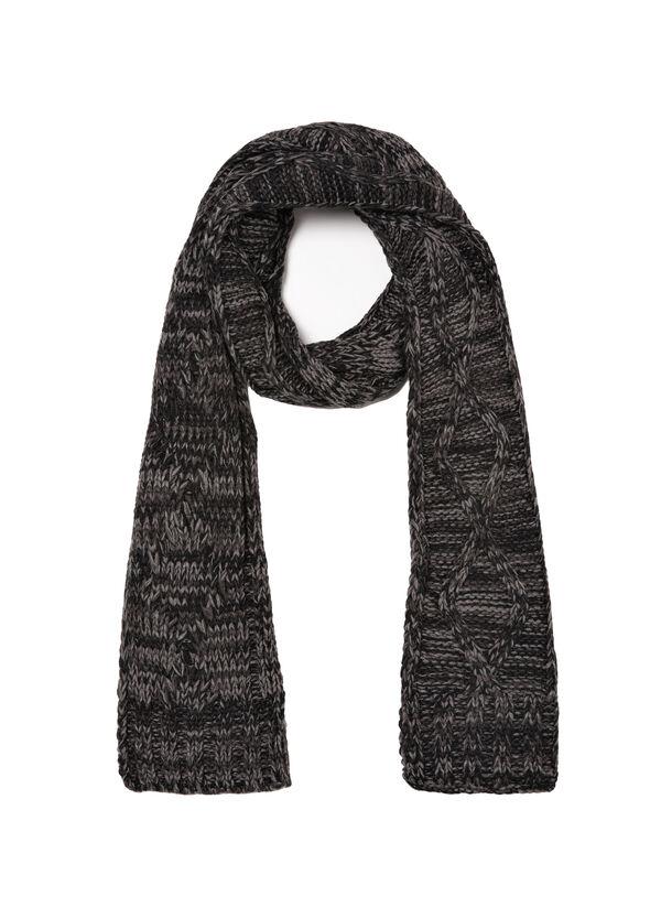 Mélange knit scarf | OVS