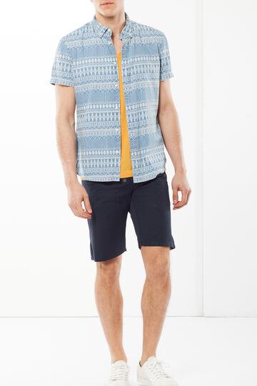 Camicia slim fit, Blu chiaro, hi-res