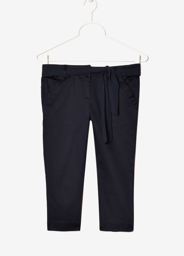 Trousers with bow | OVS