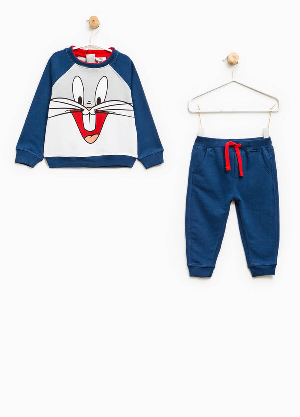 Cotton tracksuit with Bugs Bunny print | OVS