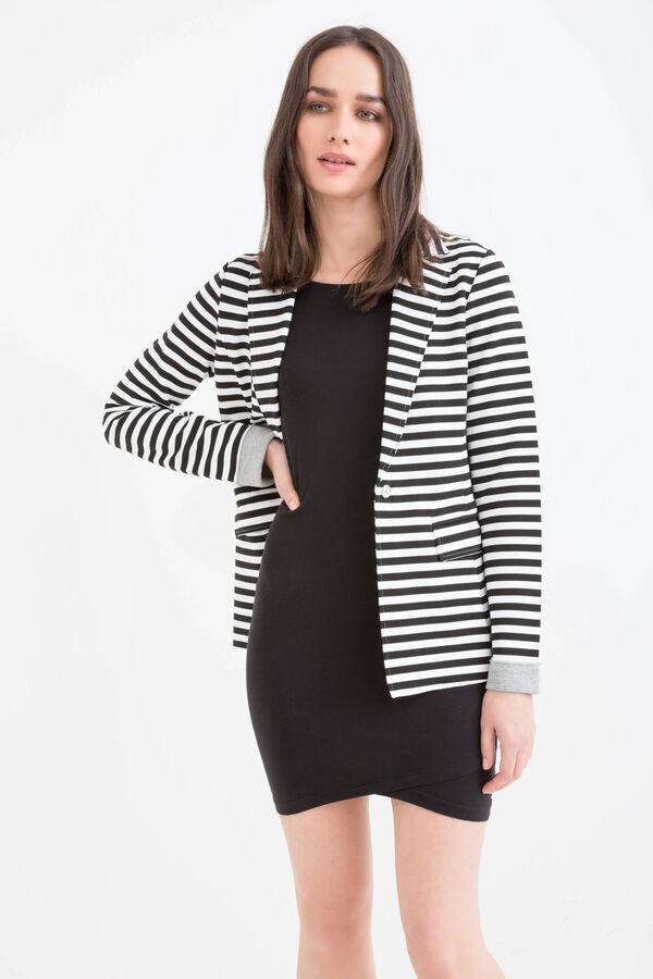 Striped stretch blazer | OVS