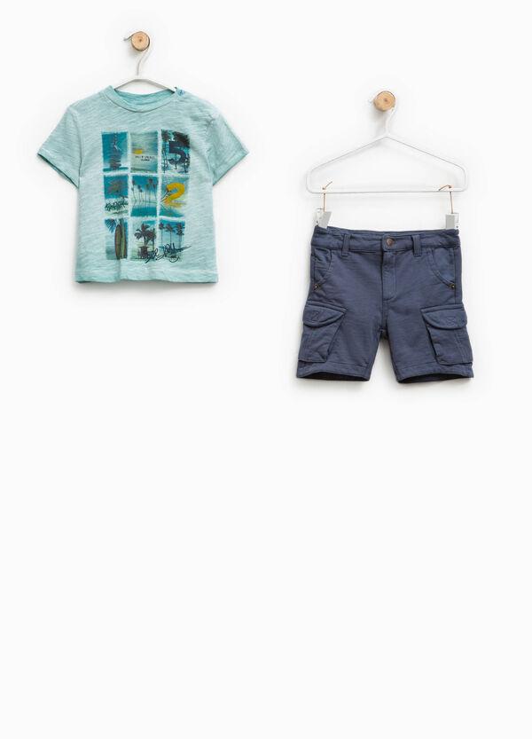 Completo t-shirt e bermuda cargo | OVS