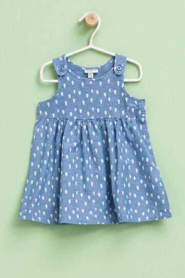 Sleeveless patterned dress