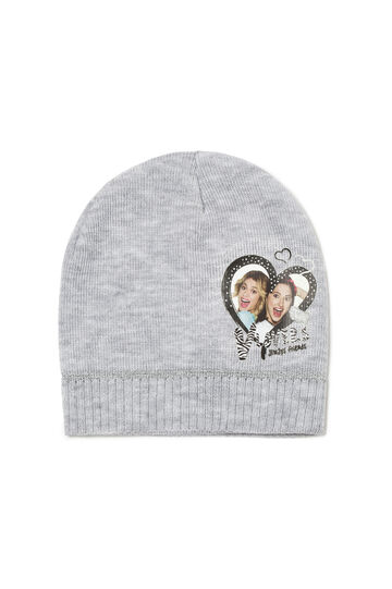 Hat with Violetta patch, Light Grey, hi-res