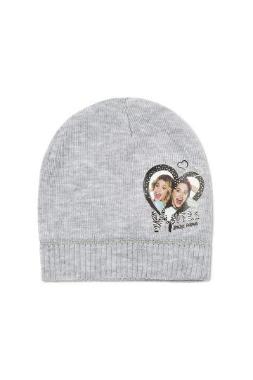 Cappello patch tema Violetta, Grigio chiaro, hi-res