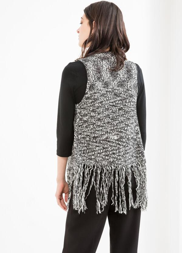 Sleeveless knit cardigan | OVS