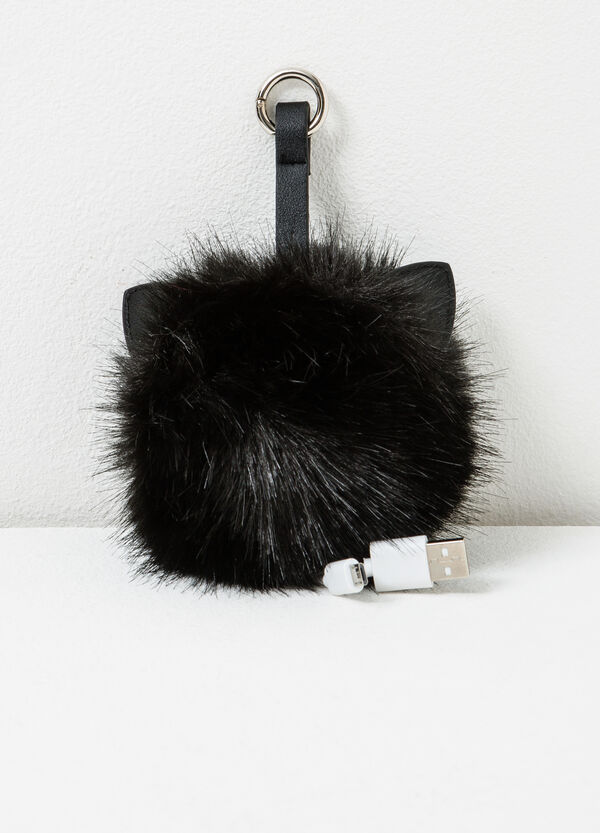 Faux fur USB adaptor | OVS