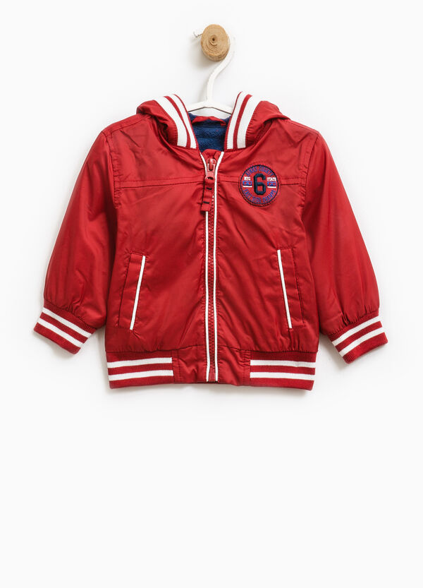 Jacket with contrasting trim | OVS