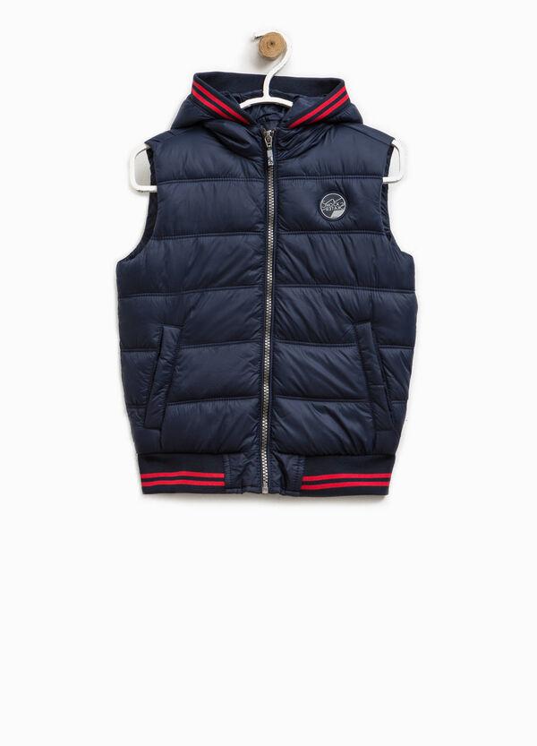 Padded waistcoat with hood | OVS