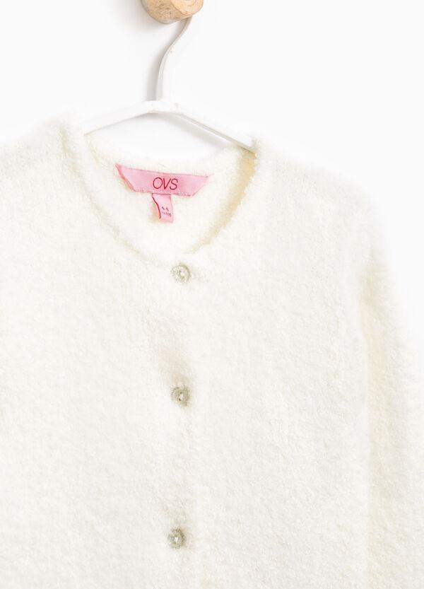 Cardigan lana stretch tricot | OVS