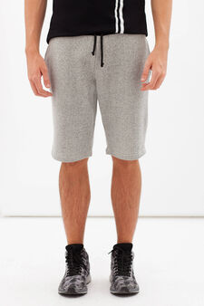 Bermuda joggers, Grey, hi-res