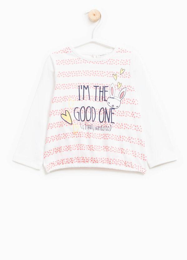 T-shirt cotone stretch maxi stampa | OVS