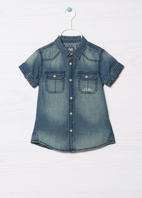 Camicia di jeans delavé | OVS