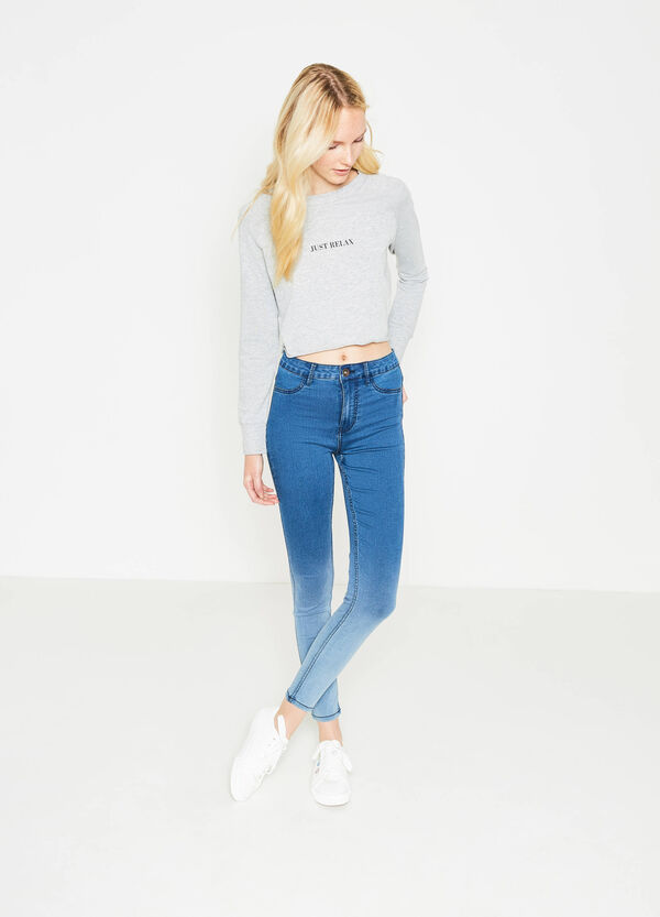 Degradé, stretch super skinny-fit jeans | OVS