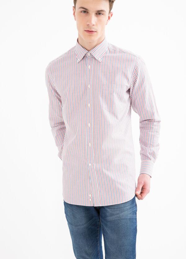 Camicia regular fit fantasia a righe | OVS