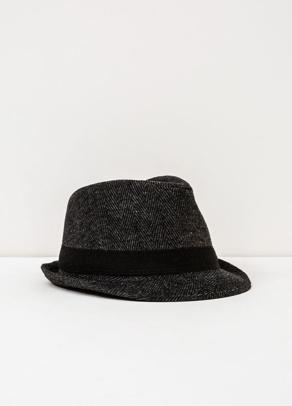 Patterned hat with band | OVS