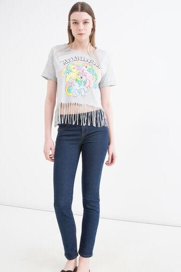 T-shirt puro cotone My Little Pony, Grigio melange, hi-res