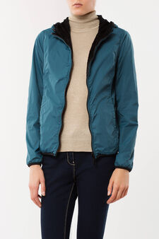 Lined jacket, Green, hi-res