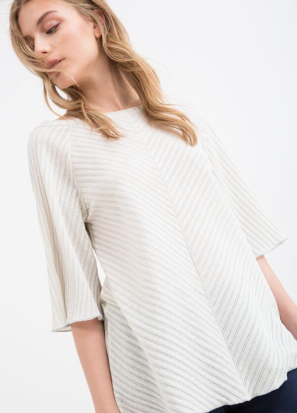Pullover misto cotone a tricot | OVS