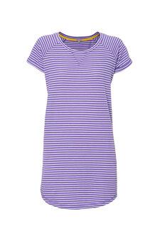 Smart Basic striped dress, White/Purple, hi-res