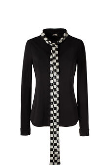 Jersey shirt, Jean Paul Gaultier for OVS, Black, hi-res