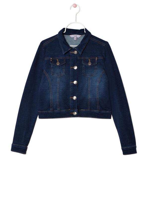 Faded effect denim jacket | OVS